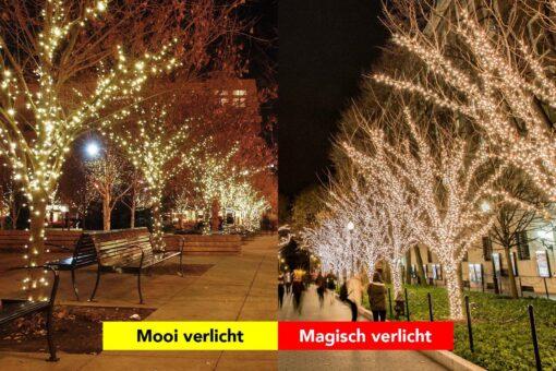 boomverlichting kerst mooi of magisch