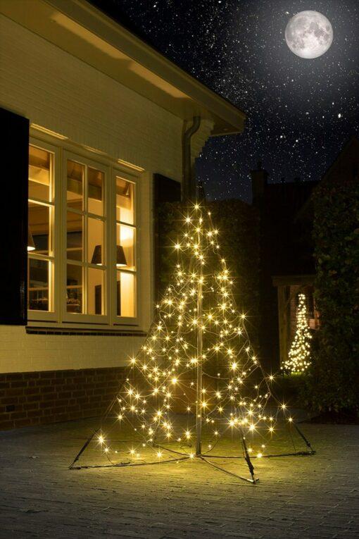 buiten kerstboom