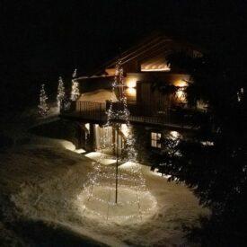 buiten kerstboom twinkly