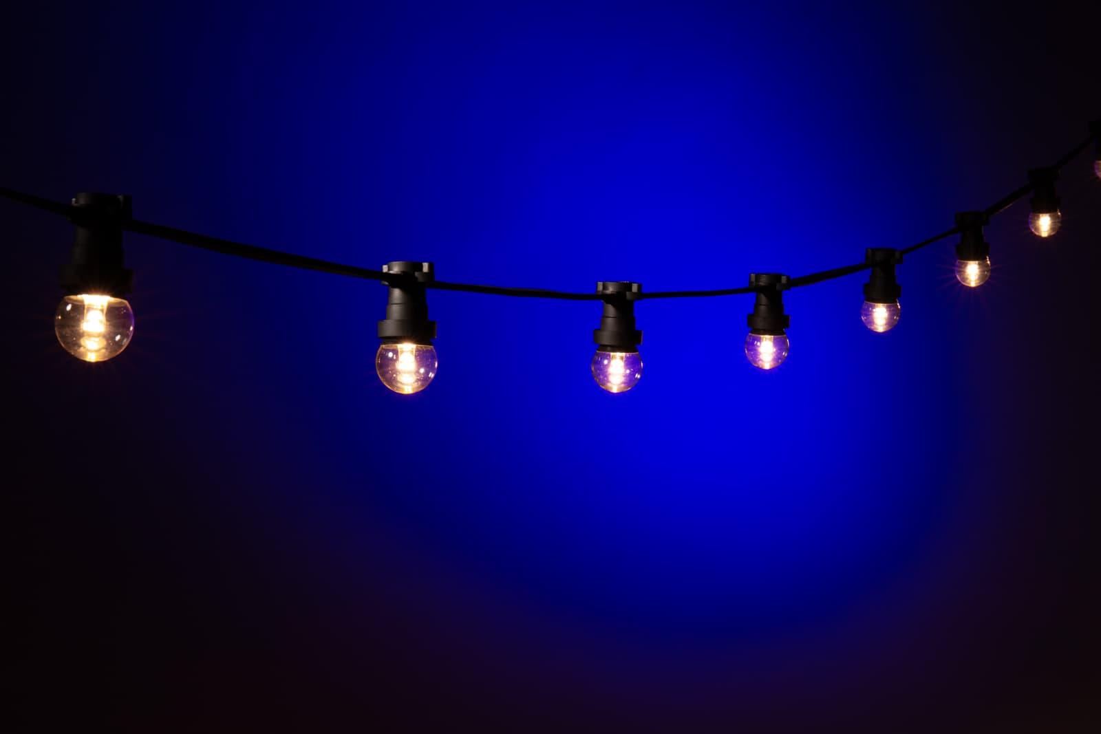 buiten lampjes