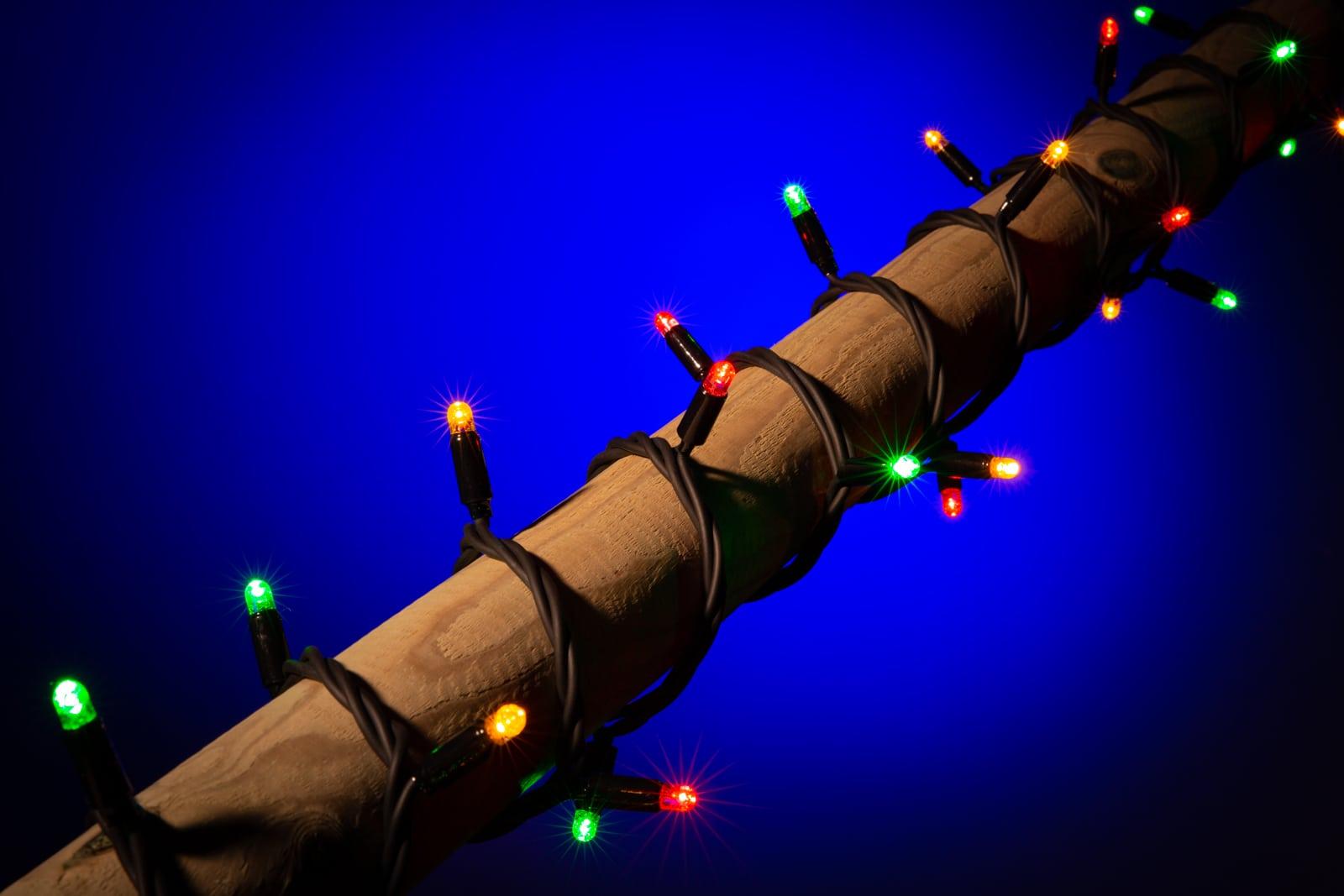 Carnavalsverlichting • Rood Geel Groen lampjes • 100 LED lampjes