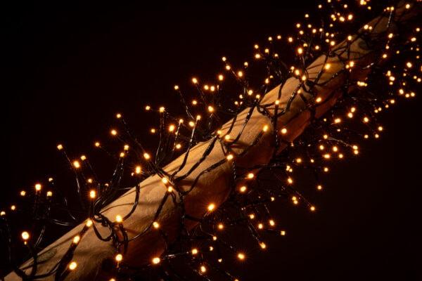 clusterverlichting buiten
