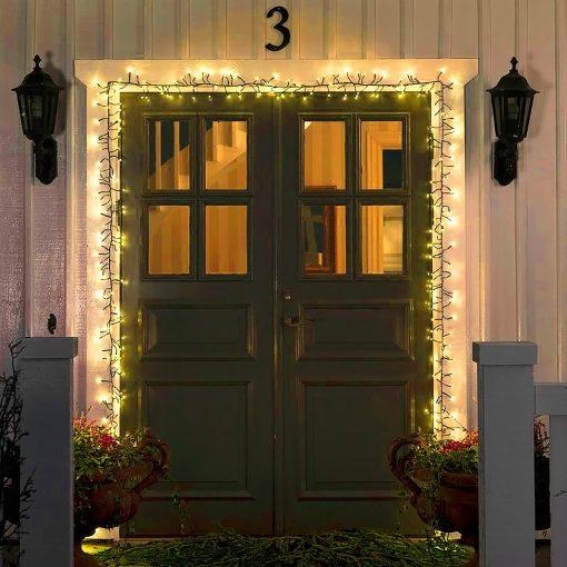 clusterverlichting deur