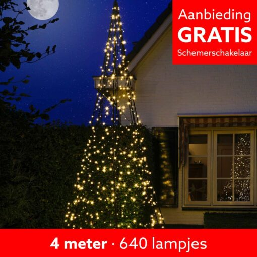 fairybell 4 meter 640 leds FANL-400-640-02-EU 8718781474232