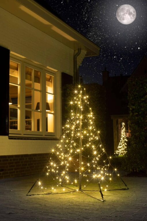 fairybell all surface kerstboom 150 cm 240 leds