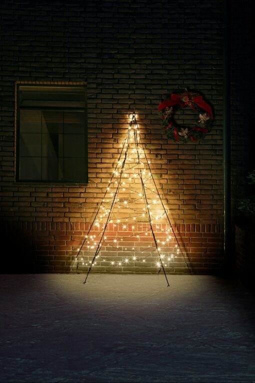 fairybell muurkerstboom 200 cm 180 led