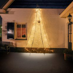 fairybell muurkerstboom 400 cm 240 led