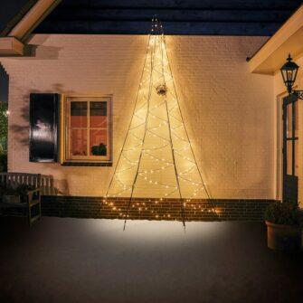 fairybell muurkerstboom 400 cm 240 led