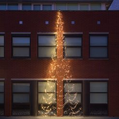 fairybell muurkerstboom 800 cm 750 led