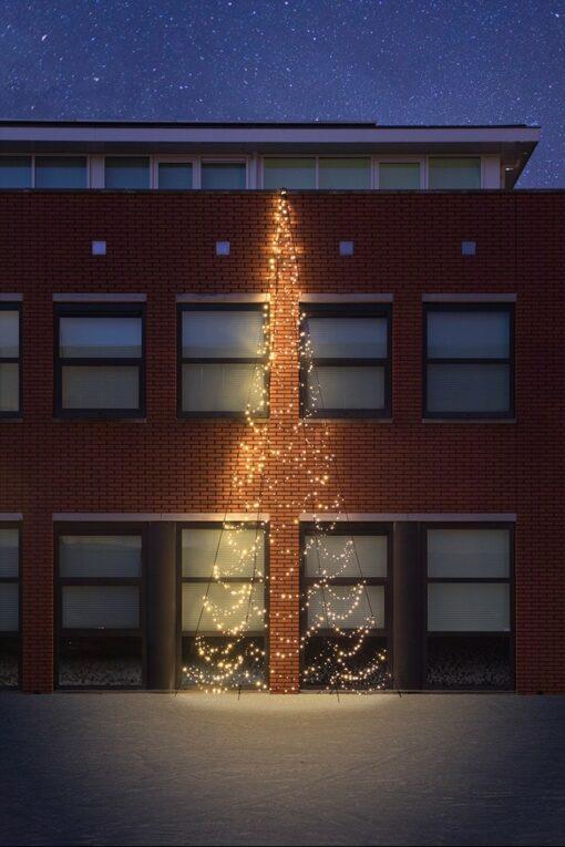 fairybell muurkerstboom 800 cm 750 led