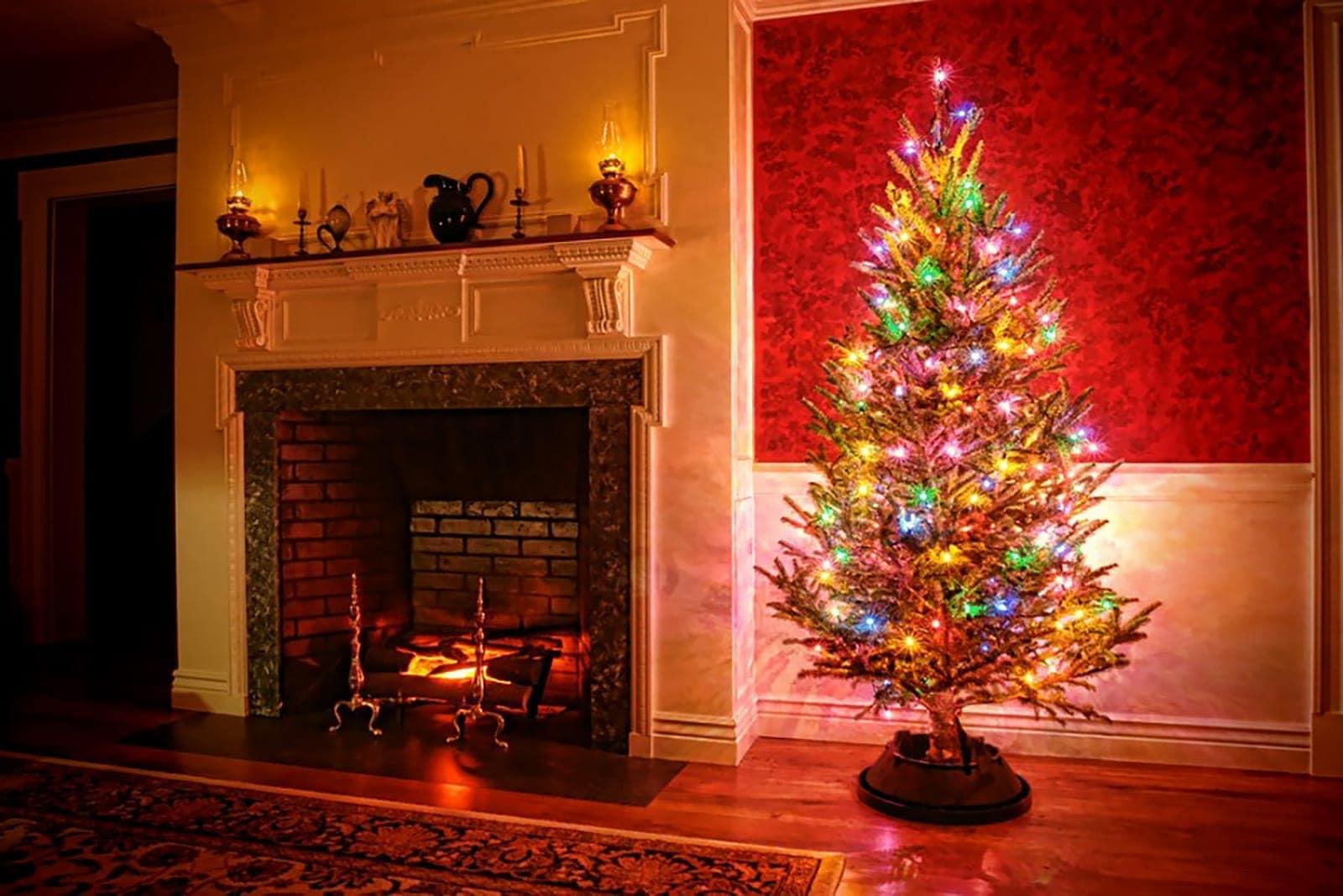 Gekleurde Kerstverlichting Led 720 Lampjes Kerstverlichting Buiten