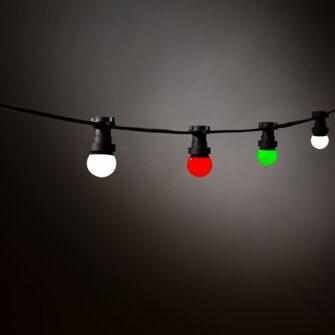 groen wit rood verlichting