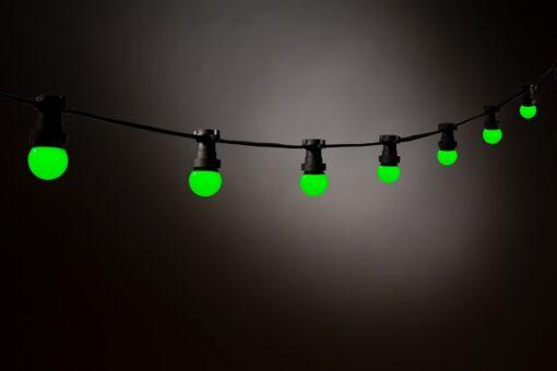 groene prikkabel led lampen