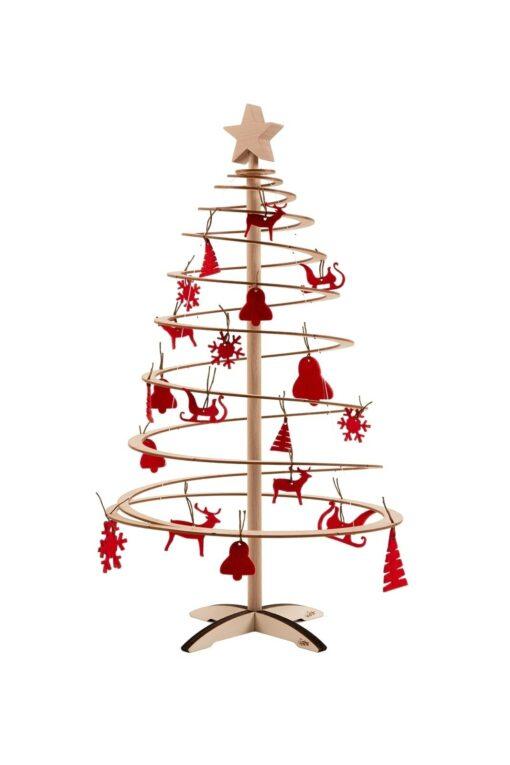 houten kerstboompjes spira mini