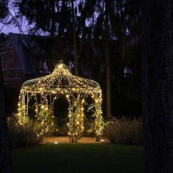 ideeen kerstverlichting buiten