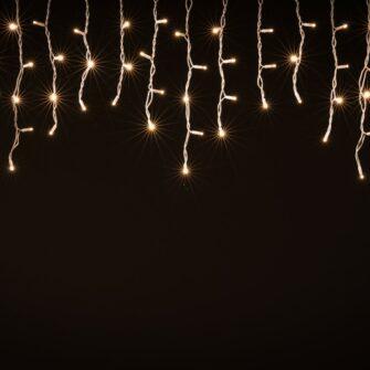 ijspegel verlichting buiten