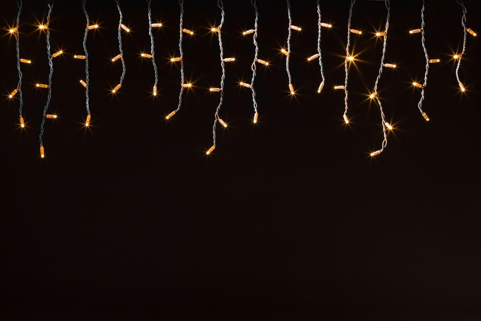IJspegelverlichting 3m x 0,5m  u2022 Warm wit    Kerstverlichting Buiten