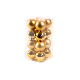 kerstballen goud