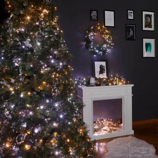 kerstboom met lichtjes twinkly