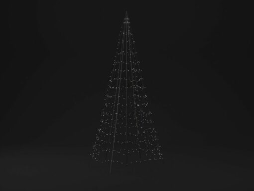 kerstboom op paal 3 meter