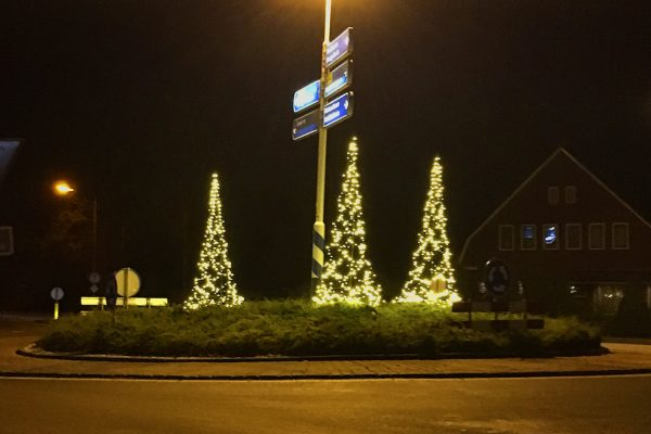 kerstboom rotonde