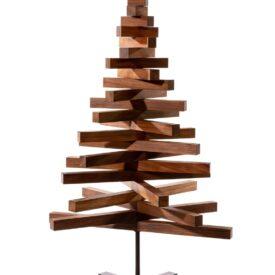 kerstboompje van hout