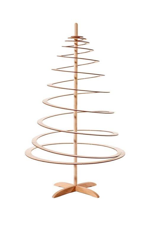 kerstboompje van hout spira small