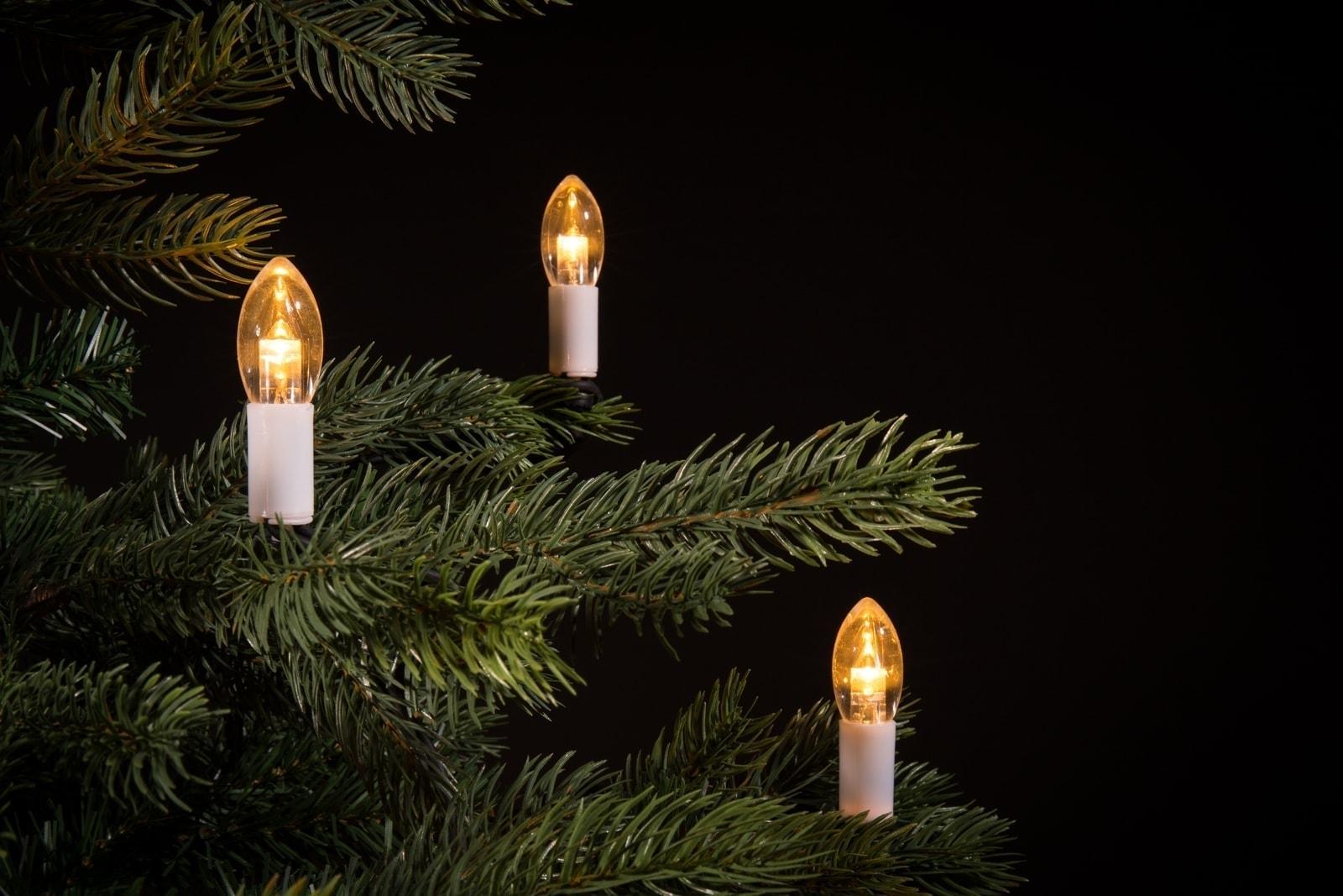 kerstboomverlichting kaarsjes