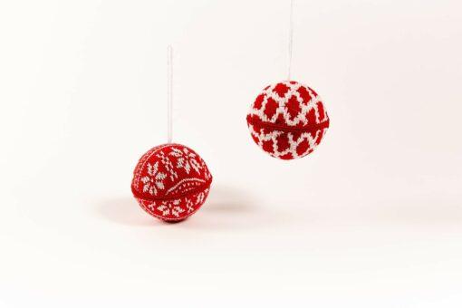 kerstboomversiering stoffen kerstballen