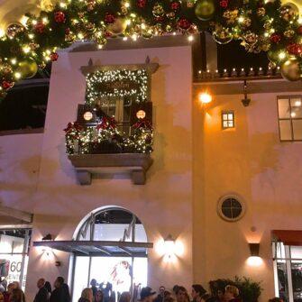 kerstslinger met lampjes