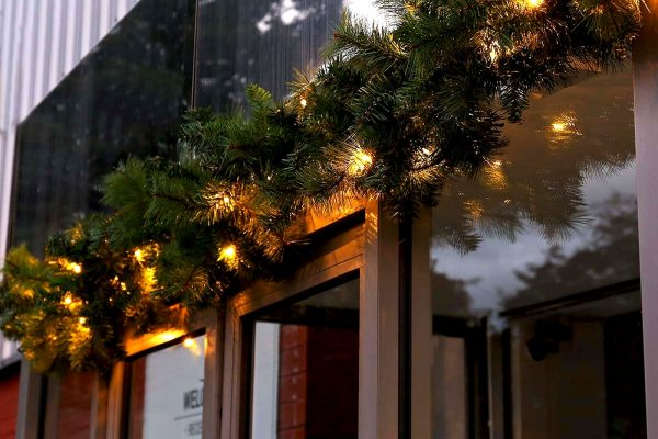 kerstslingers met verlichting