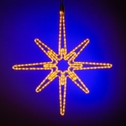 kerstster verlichting