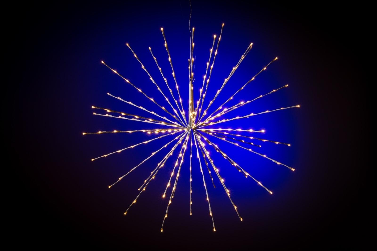 Kerstster verlichting buiten • Warm wit • Ø 70 cm • 160 LED lampjes
