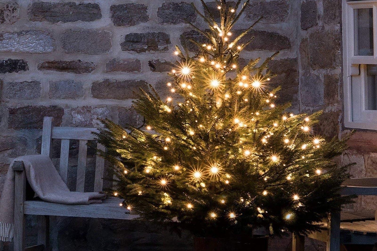 Kerstverlichting Led Wit Snoer Warm Wit 240 Lampjes