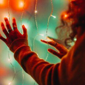 kerstverlichting lichtgordijn twinkly