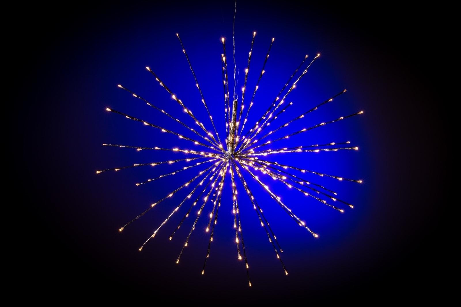 3d Kerstster Verlichting Met Flash Effect Modern Warm Wit O 70 Cm 160 Lampjes