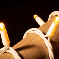 kerstverlichting wit snoer 100 lampjes