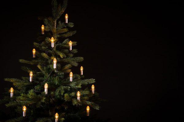 klassieke kerstverlichting