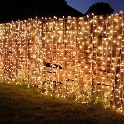 lichtgordijn buiten