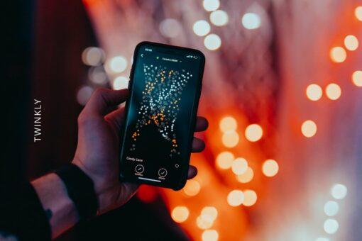 lichtgordijn twinkly app