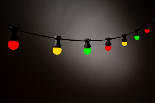 lichtsnoer rood geel groen