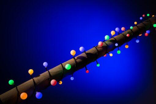 multicolor kerstverlichting bolletjes