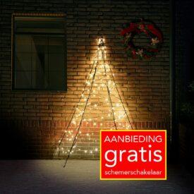 muur kerstboom