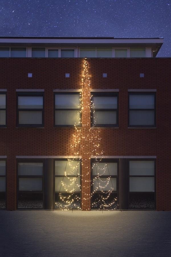 muurkerstboom fairybell 8 meter