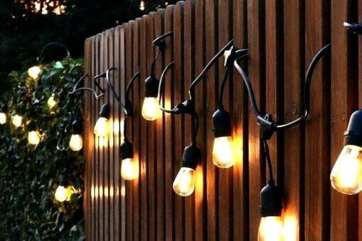 party lights buiten
