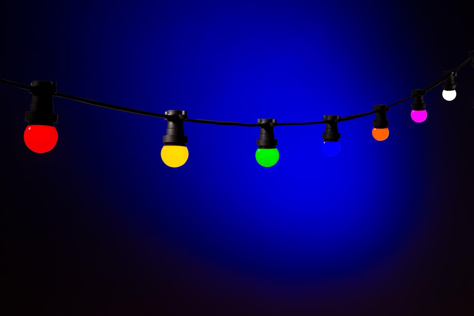 partyverlichting buiten