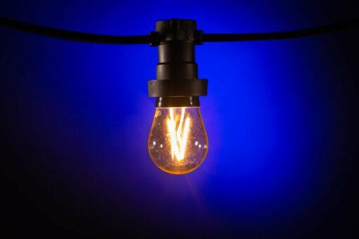 prikkabel filament led lampen warm wit dimbaar