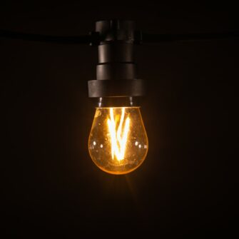 prikkabel lampen