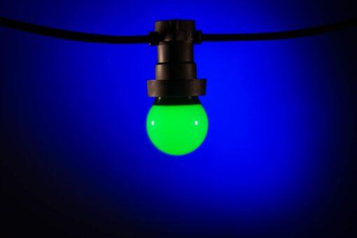 prikkabel lampen groen
