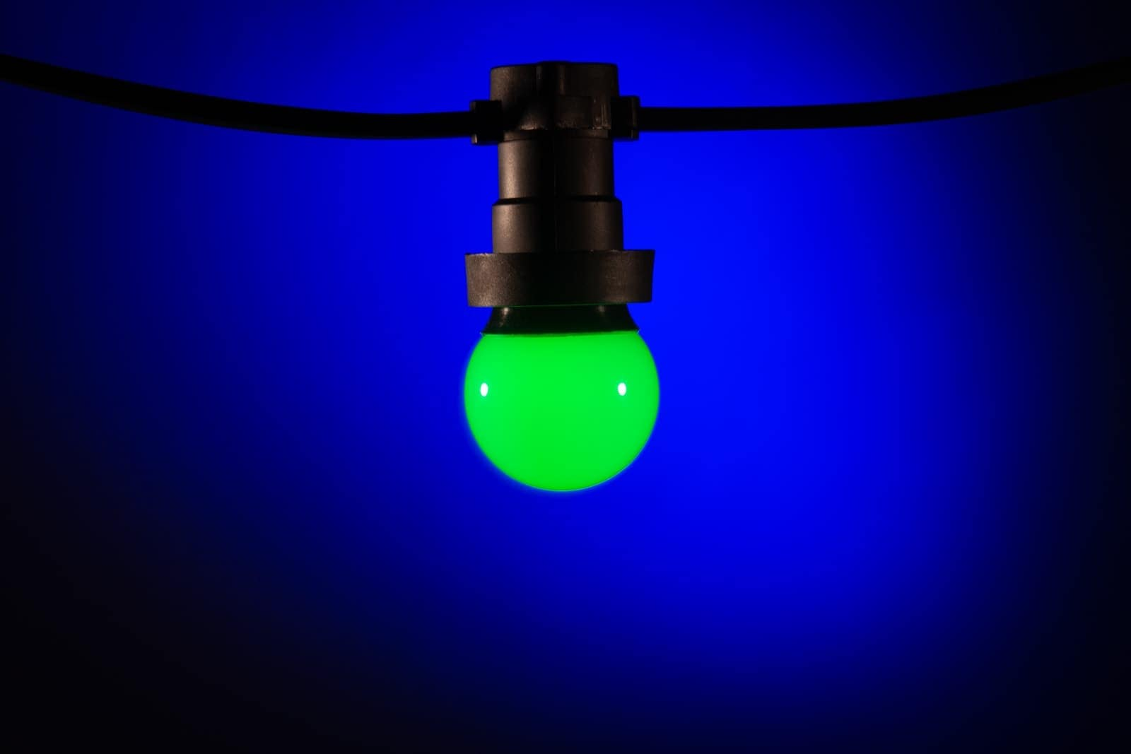 Prikkabel led lamp groen kerstverlichting buiten for Led lampen shop